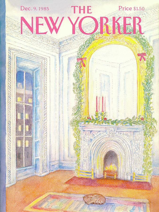 New Yorker December 9th, 1985 Painting by Iris VanRynbach