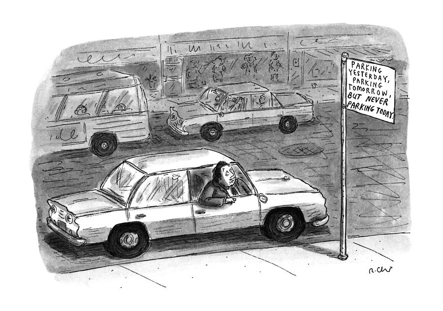 New Yorker December 9th, 1996 Drawing by Roz Chast