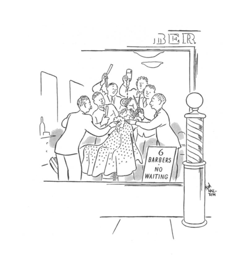 New Yorker February 10th, 1940 Drawing by Ned Hilton