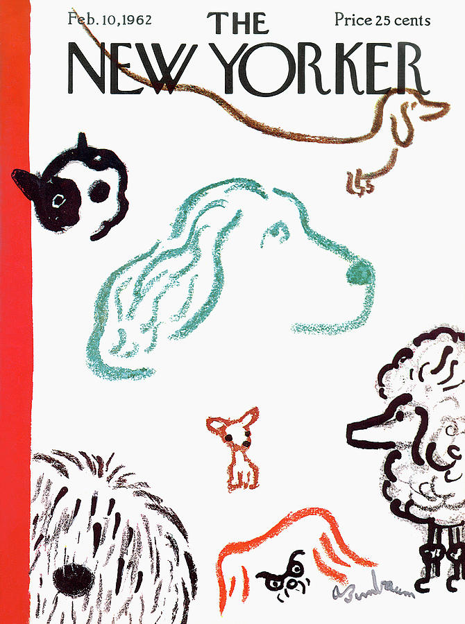New Yorker February 10th, 1962 Painting by Abe Birnbaum