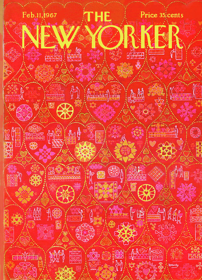 New Yorker February 11th, 1967 Painting by Anatol Kovarsky