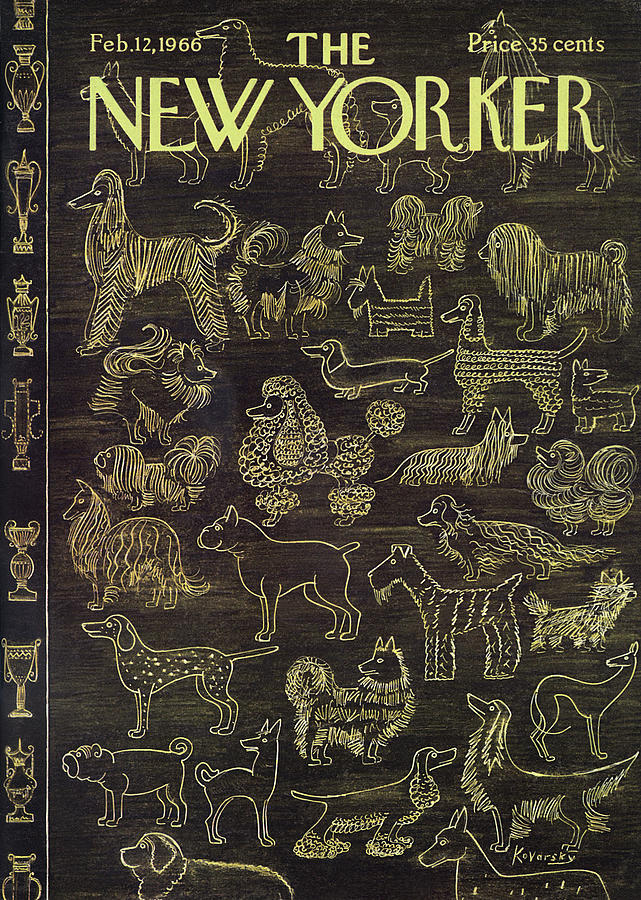 New Yorker February 12th, 1966 Painting by Anatol Kovarsky