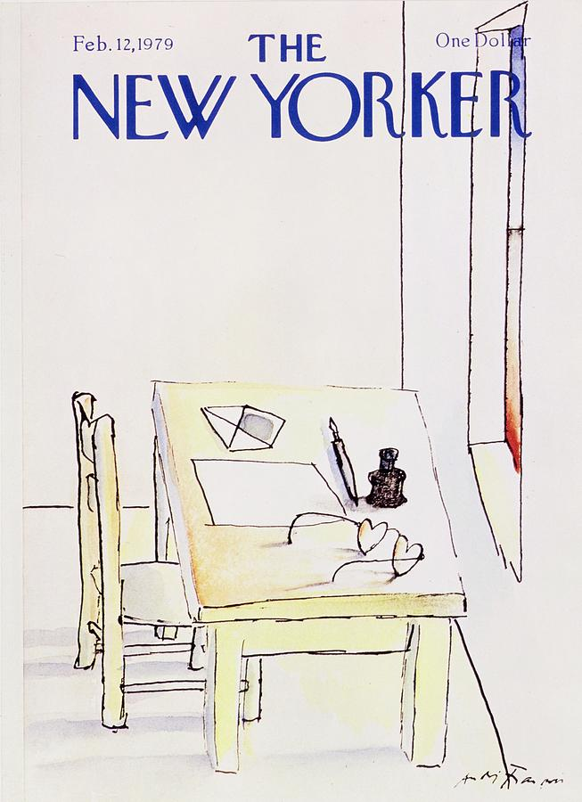 New Yorker February 12th 1979 Painting by Andre Francois