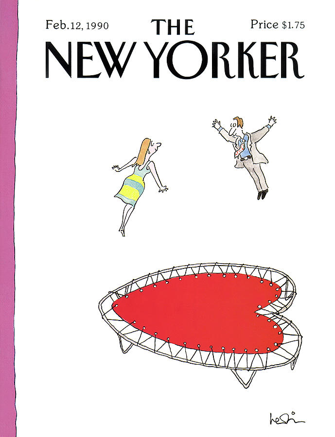 New Yorker February 12th, 1990 Painting by Arnie Levin