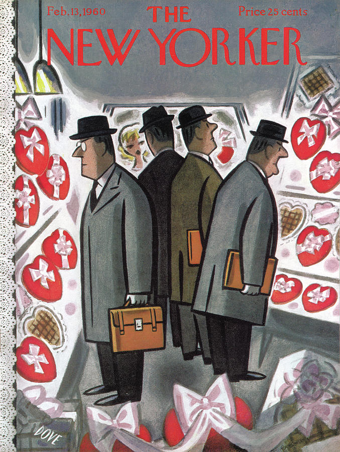 New Yorker February 13th, 1960 Painting by Leonard Dove