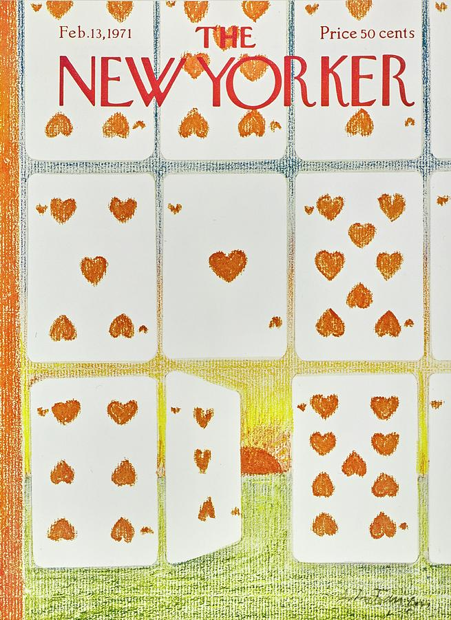 New Yorker February 13th 1971 Painting by Andre Francois