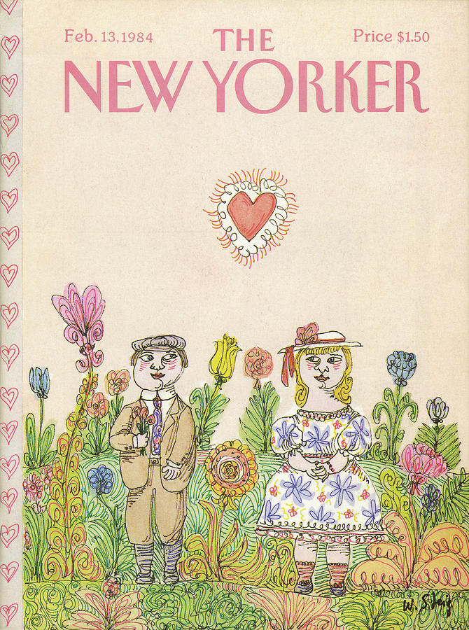 New Yorker February 13th, 1984 Painting by William Steig
