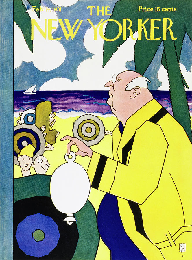 New Yorker February 14 1931 Painting by Gardner Rea