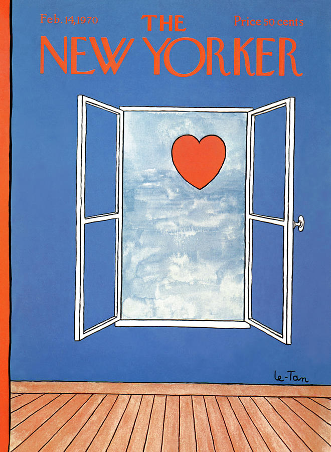 New Yorker February 14th, 1970 Painting by Pierre LeTan