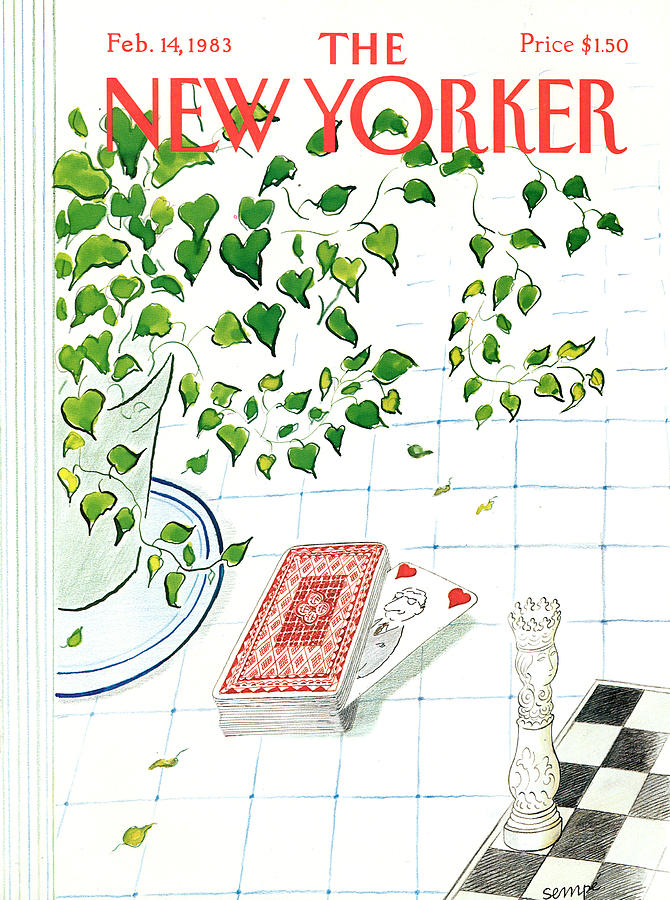New Yorker February 14th, 1983 Painting by Jean-Jacques Sempe