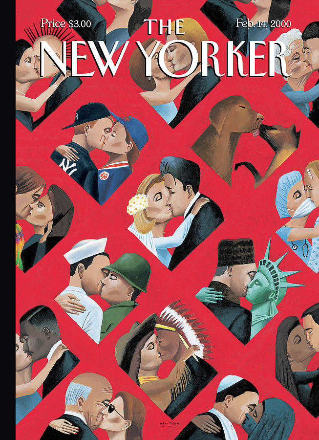 New Yorker February 14th, 2000 Painting by Mark Ulriksen