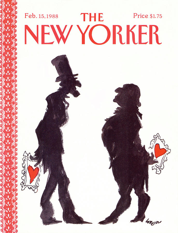 New Yorker February 15th, 1988 Painting by Lee Lorenz