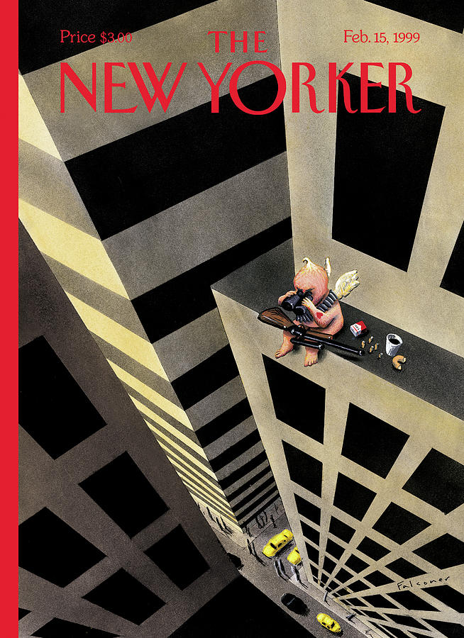 New Yorker February 15th, 1999 Painting by Ian Falconer