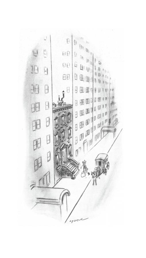 New Yorker February 17th, 1940 Drawing by Leonard Dove