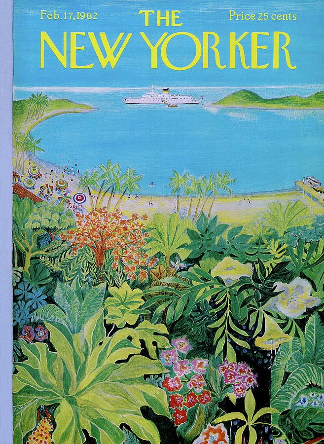 New Yorker February 17th, 1962 Painting by Ilonka Karasz