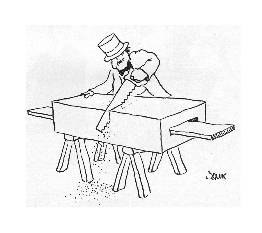 New Yorker February 17th, 1975 Drawing by John Jonik