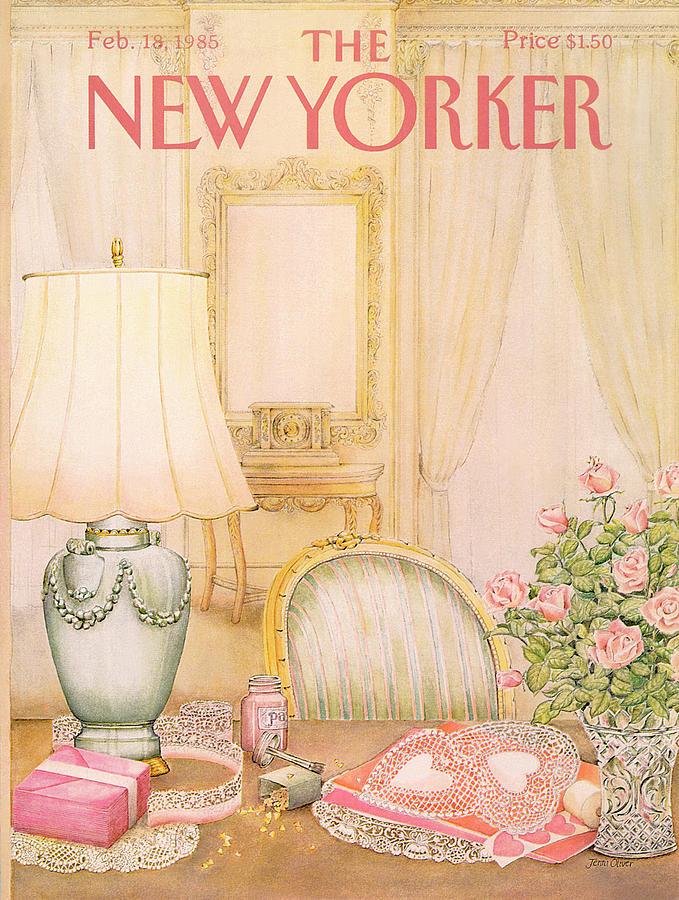 New Yorker February 18th, 1985 Painting by Jenni Oliver