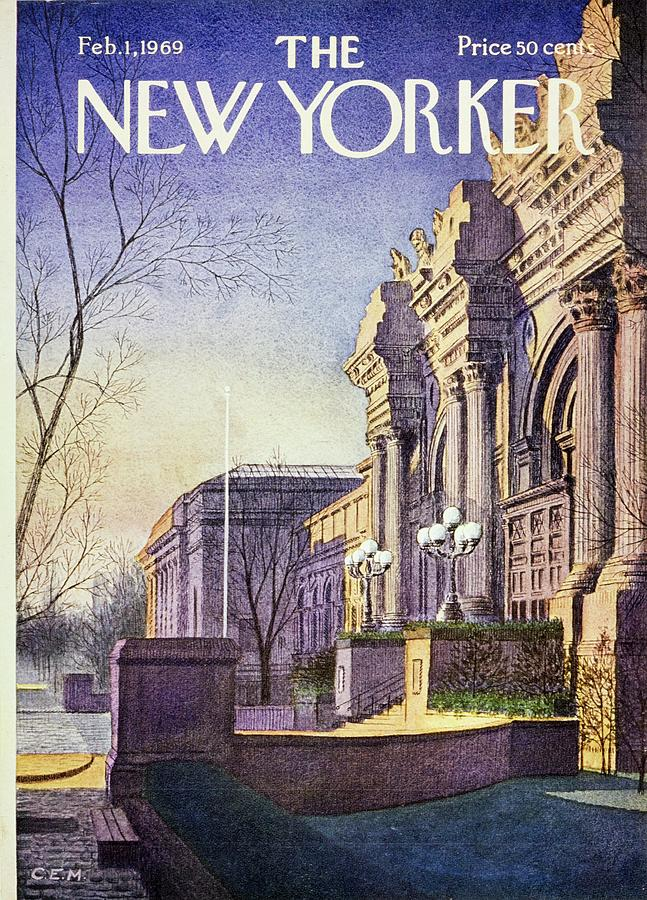 New Yorker February 1st 1969 Painting by Charles Martin