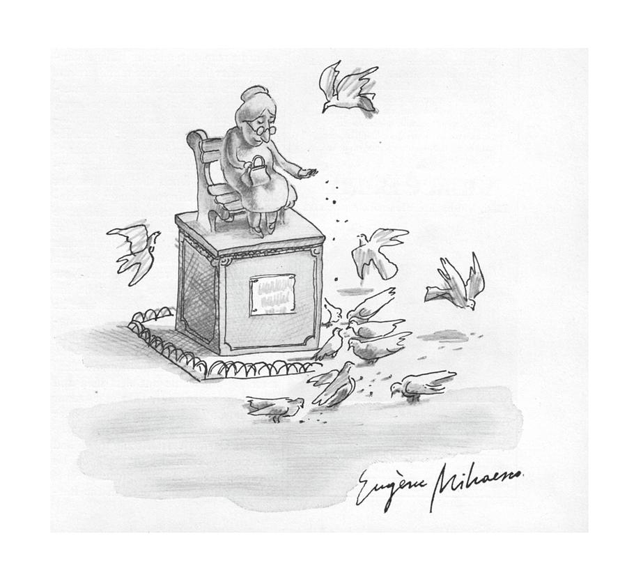 New Yorker February 23rd, 1976 Drawing by Eugene Mihaesco
