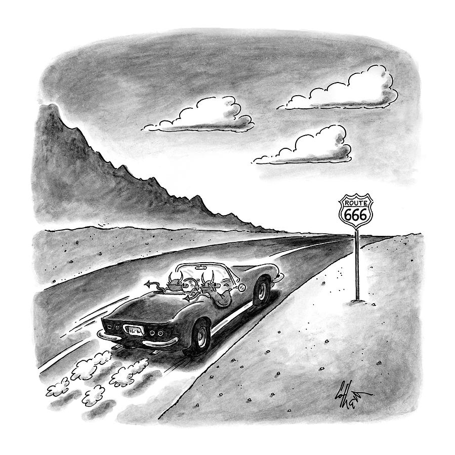 New Yorker February 23rd, 1998 Drawing by Frank Cotham