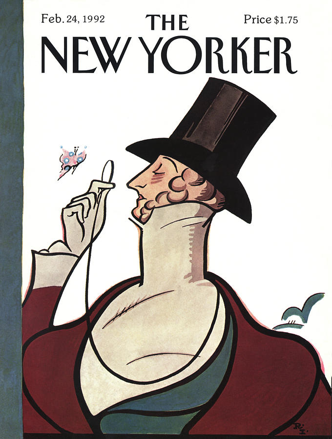 New Yorker February 24th, 1992 Painting by Rea Irvin