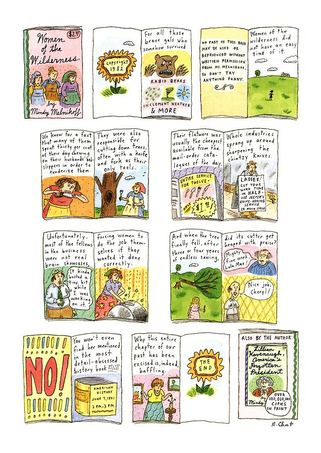 New Yorker February 25th, 1991 Drawing by Roz Chast