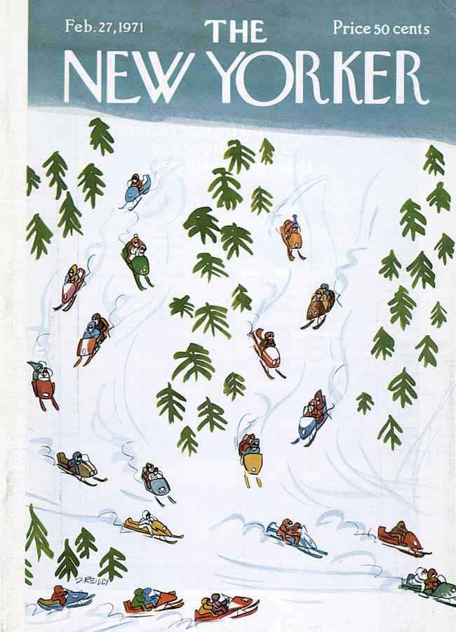 New Yorker February 27th, 1971 Painting by Donald Reilly
