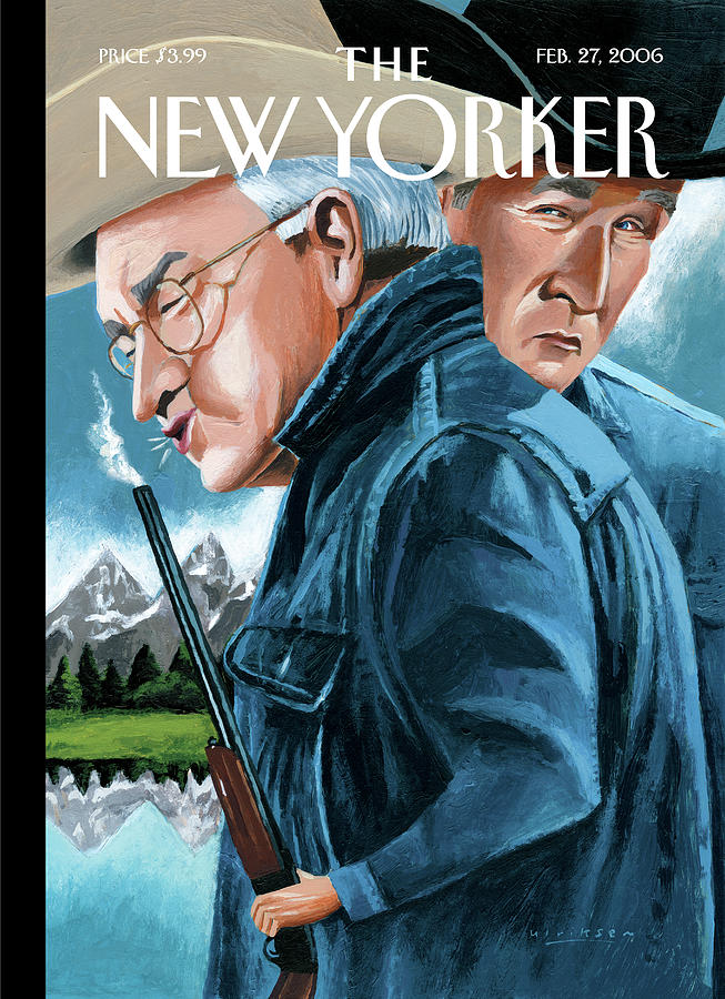 New Yorker February 27th, 2006 Painting by Mark Ulriksen
