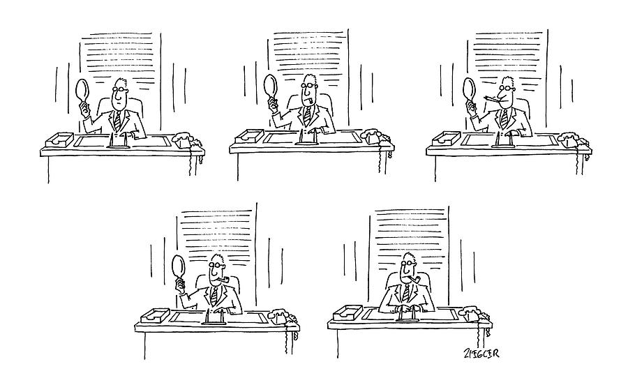 New Yorker February 2nd, 1987 Drawing by Jack Ziegler