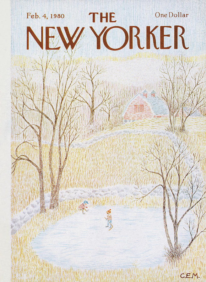 New Yorker February 4th, 1980 Painting by Charles E Martin