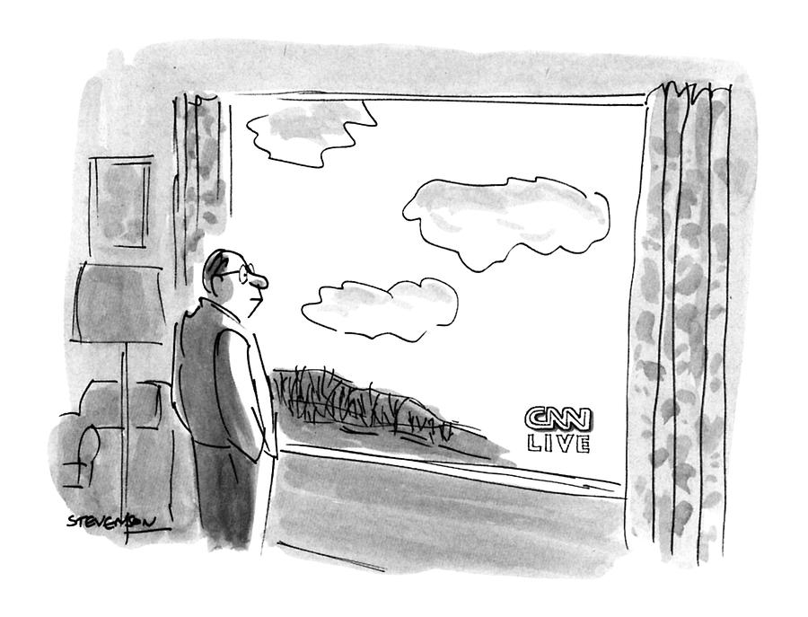 New Yorker February 4th, 1991 Drawing by James Stevenson