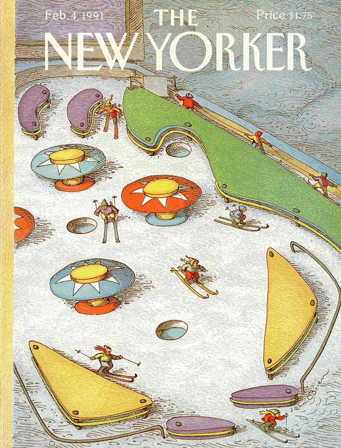 New Yorker February 4th, 1991 Painting by John OBrien