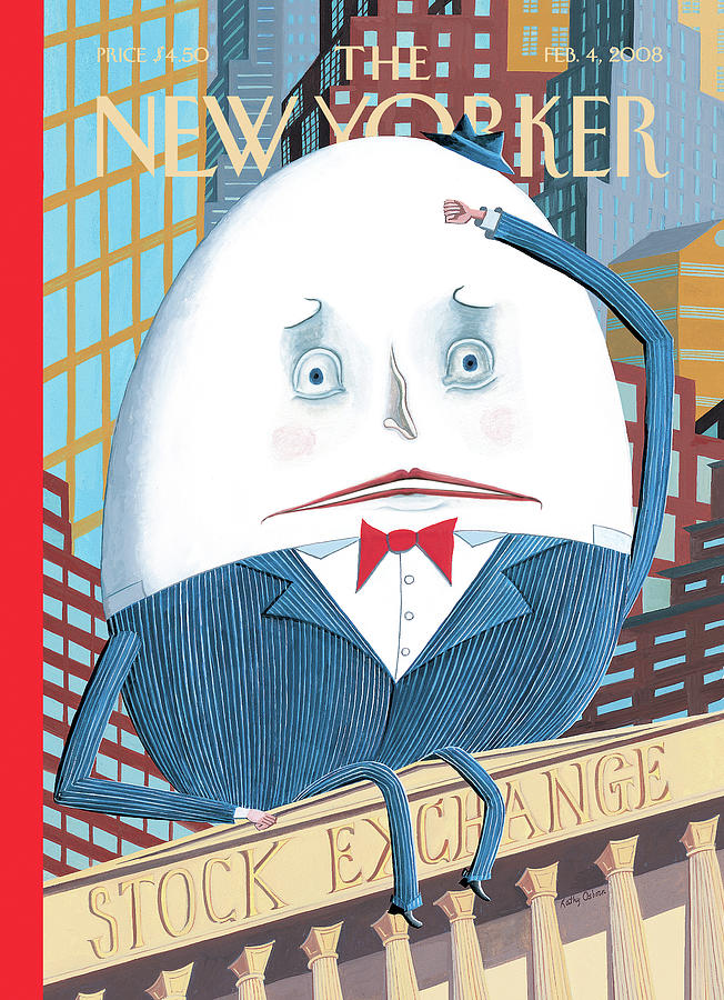 Humpty Dumpty Sat On A Wall . . . , Painting by Kathy Osborn