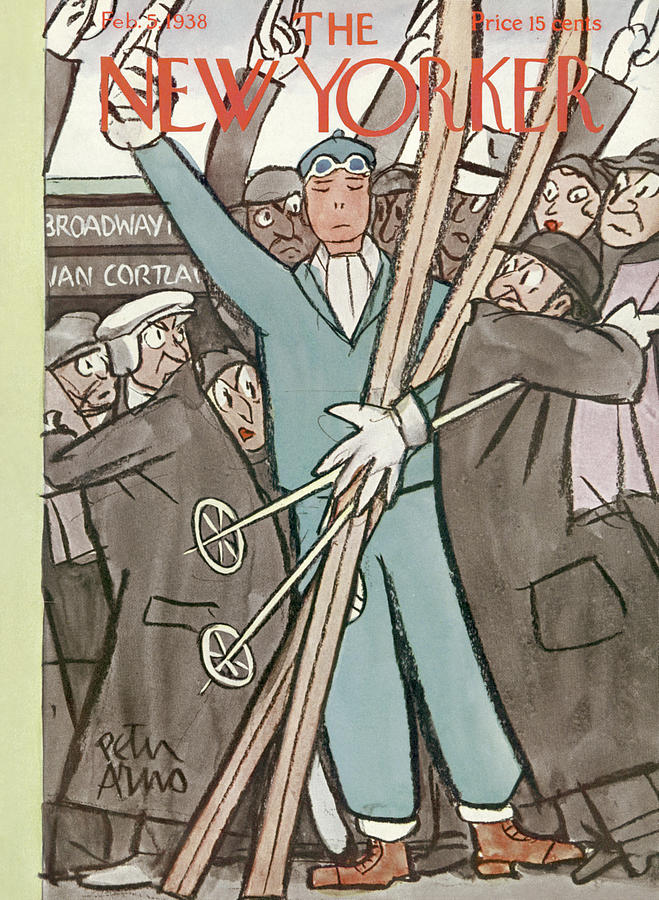 New Yorker February 5, 1938 Painting by Peter Arno