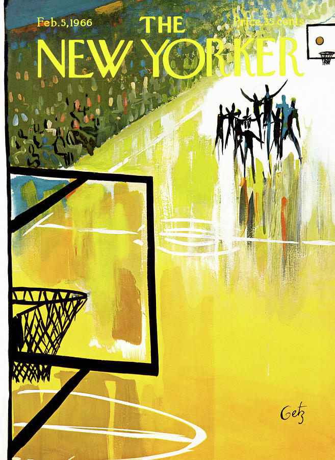 New Yorker February 5th, 1966 Painting by Arthur Getz