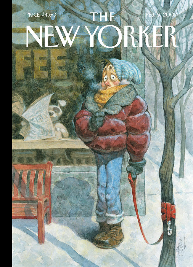 New Yorker February 5th, 2007 Painting by Peter de Seve