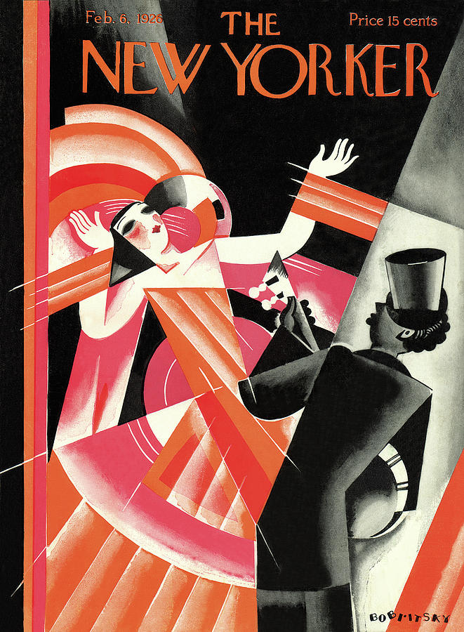1926 Painting - New Yorker February 6th, 1926 by Victor Bobritsky