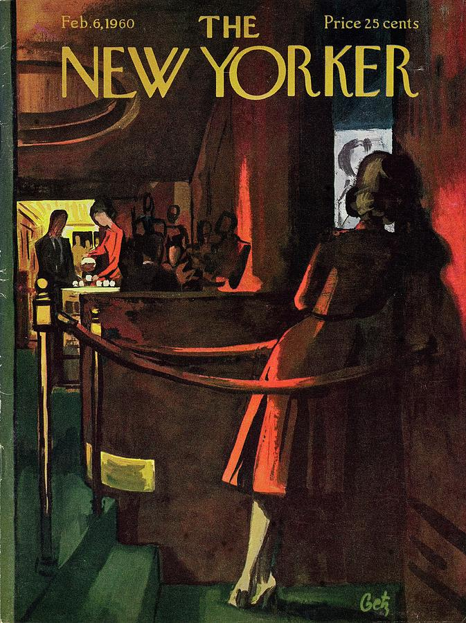 New Yorker February 6th 1960 Painting by Arthur Getz
