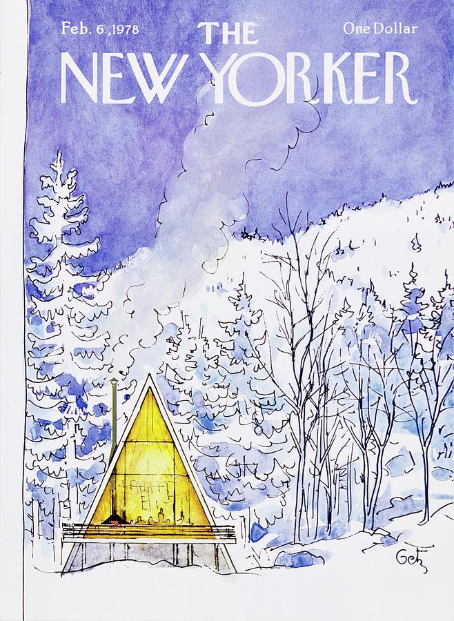 New Yorker February 6th 1978 Painting by Arthur Getz