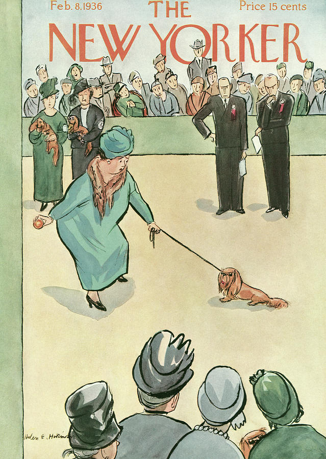 New Yorker February 8, 1936 Painting by Helen E Hokinson