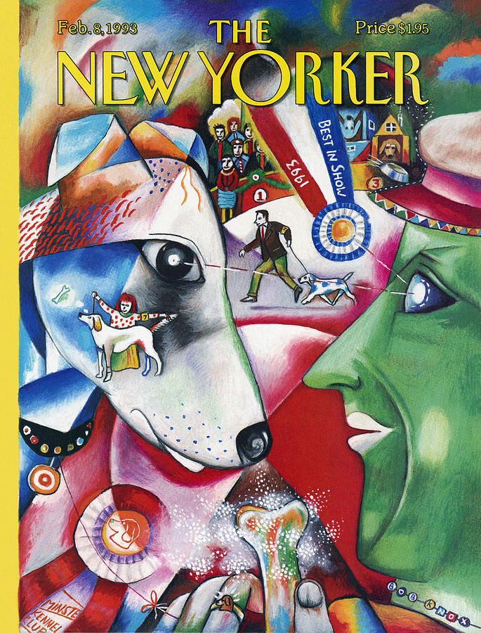 New Yorker February 8th, 1993 Painting by Bob Knox