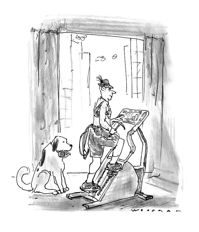 New Yorker February 9th, 1998 Drawing by Bill Woodman
