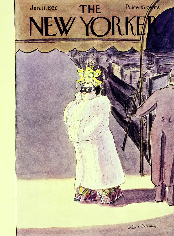 New Yorker January 11 1936 Painting by Helene E Hokinson