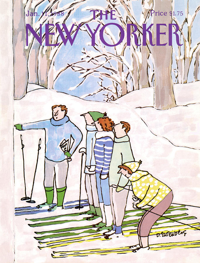 New Yorker January 11th, 1988 Painting by Devera Ehrenberg