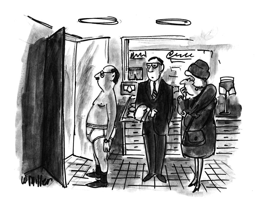 New Yorker January 11th, 1993 Drawing by Warren Miller