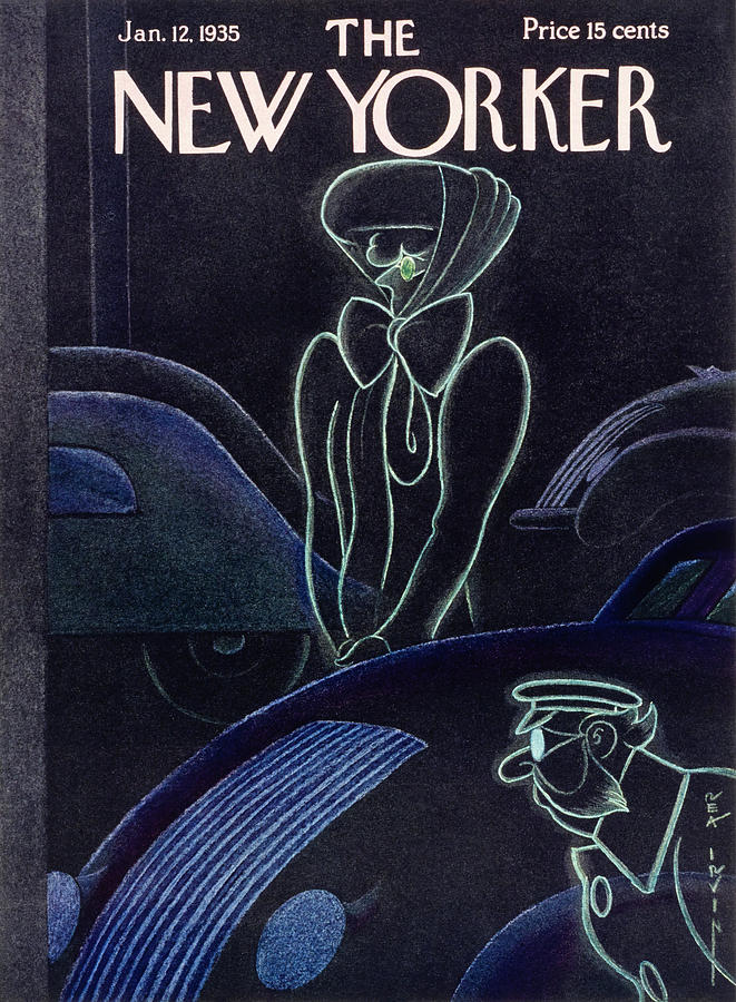 New Yorker January 12 1935 Painting by Rea Irvin