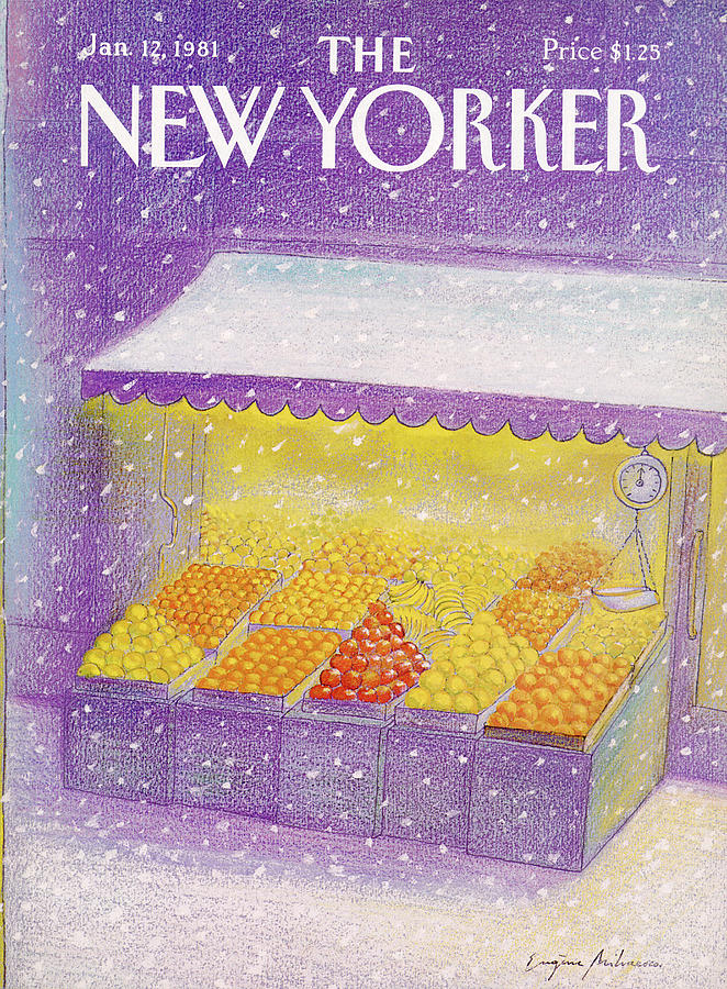 New Yorker January 12th, 1981 Painting by Eugene Mihaesco