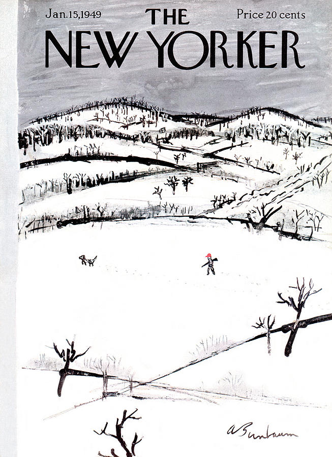 New Yorker January 15th, 1949 Painting by Abe Birnbaum