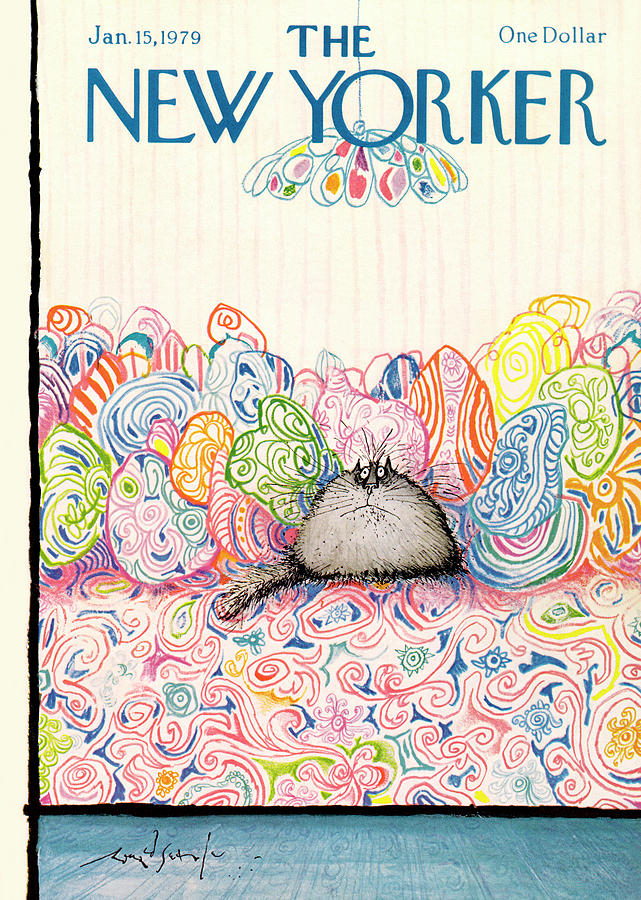 New Yorker January 15th, 1979 Painting by Ronald Searle