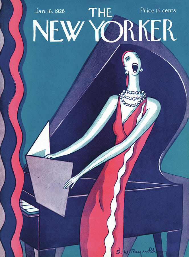 New Yorker January 16th, 1926 Painting by S W Reynolds